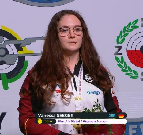 Vanessa Seeger Europameisterin
